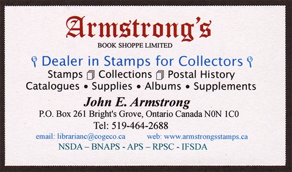 Armstrongs Stamps