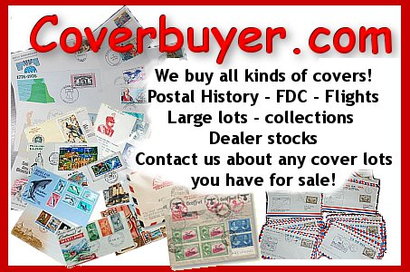 Coverbuyer - we buy all worldwide philatelic covers