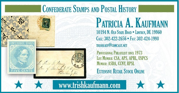 Kaufmann Confederate Stamsp & Postal History