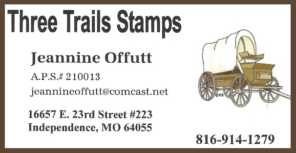 Three Trails Stamps (Jeannine Offutt)