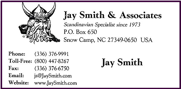 Jay Smith - Scandinavian Specialist since 1973
