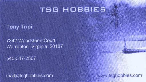 TSG Hobbies (Tony Tripi)