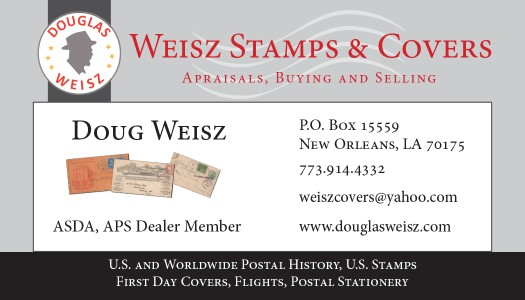 Douglas Weisz Stamps & Covers
